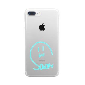 サインスマホケース Clear smartphone cases