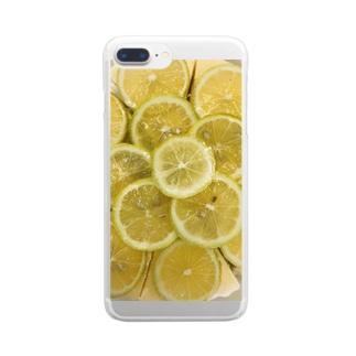 レモンパイ Clear smartphone cases