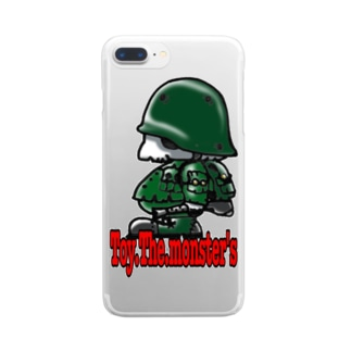 Toy.The.monster's AK side Clear smartphone cases