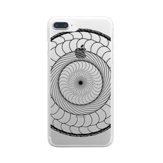 重々円 Clear smartphone cases