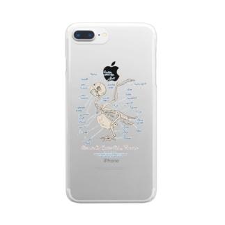 インコスケルトン Clear smartphone cases