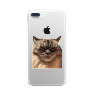 こむぎ君♡今日は機嫌イイ方♡ Clear smartphone cases