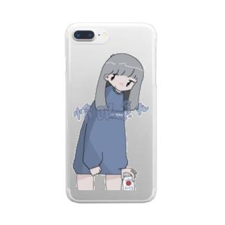 惰眠貪れ Clear smartphone cases