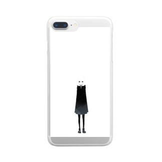 雨の  Clear smartphone cases