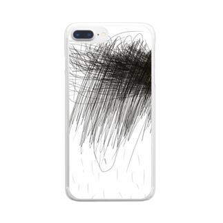 しゃっしゃ Clear smartphone cases