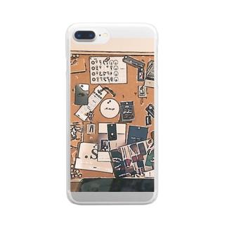 デザインボード Clear smartphone cases