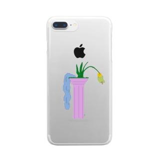 創造と破壊 Clear smartphone cases