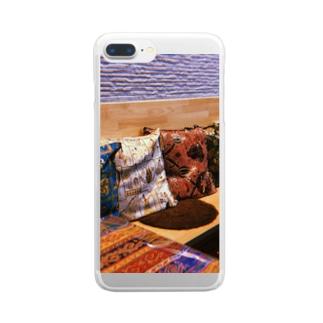 トルコ料理店 Clear smartphone cases