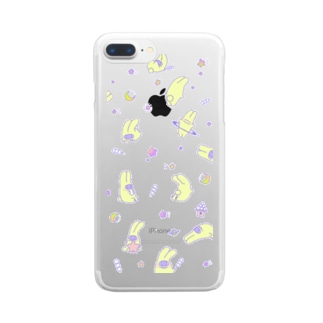 月人 Clear smartphone cases