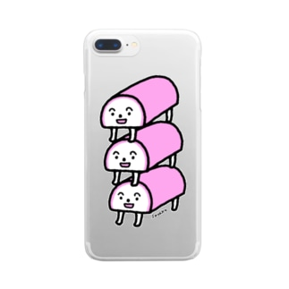 KAMABOKO Clear smartphone cases