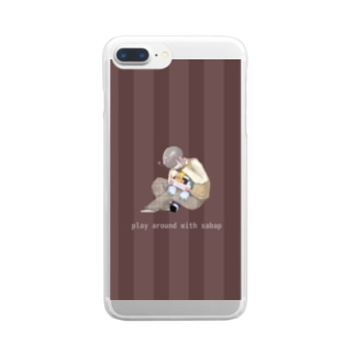 GLAY - SABAP Clear smartphone cases