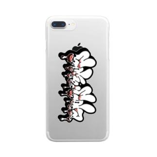 サトキチ・コーク Clear smartphone cases