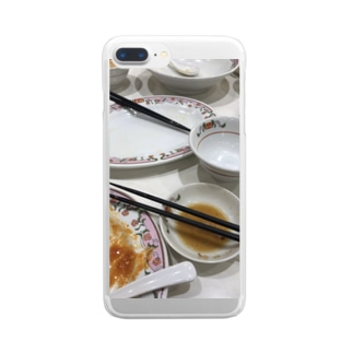 餃子の王将 Clear smartphone cases