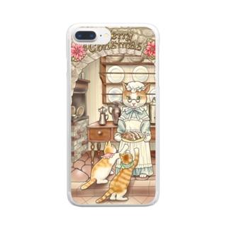 グランマのシュトーレン Clear smartphone cases