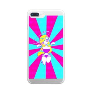 愛してた Clear smartphone cases