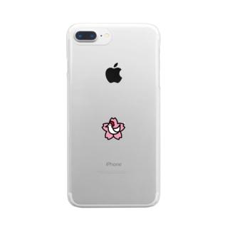 からあげさくら Clear smartphone cases