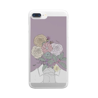 CoCoA(very,花シリーズ) Clear smartphone cases