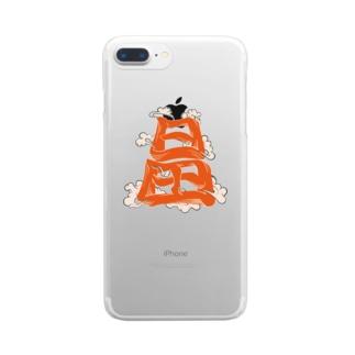 日田くん Clear smartphone cases