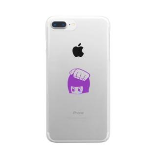 イイコちゃんにはイイコイイコ Clear smartphone cases