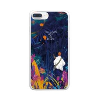 月と六ペンス Clear smartphone cases