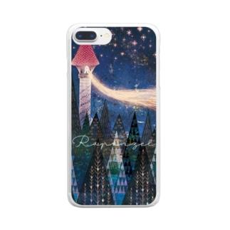 ラプンツェル Clear smartphone cases