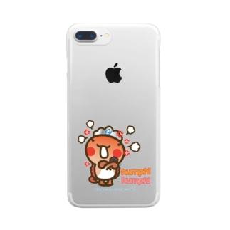邑南町ゆるキャラ:オオナン・ショウ『humph! humph!」』 Clear smartphone cases