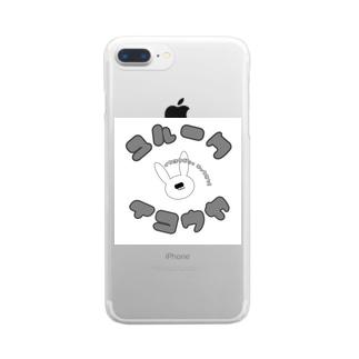 怠慢a.k.a.毚卍 Clear smartphone cases