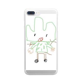 やまのおとこ Clear smartphone cases