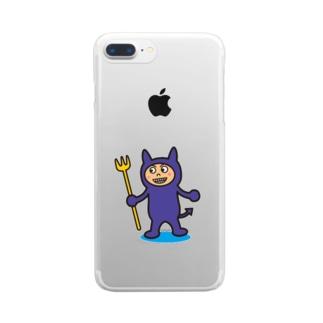破壊王子・デビルくん Clear smartphone cases