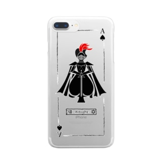 iPhoneケースKnight Clear smartphone cases