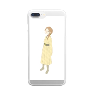 akanbe Clear smartphone cases