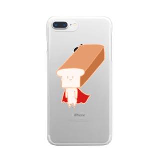 いっぽんまん Clear smartphone cases