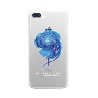 渦潮 Clear smartphone cases