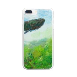 月ノ子の森に恋してのムラナギ/ジキムの通り道 Clear smartphone cases