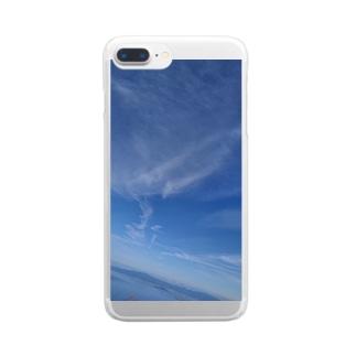 スカイダイバーデザイン Clear Smartphone Case