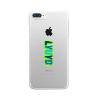死ぬまで自分を愛して 縦 Clear smartphone cases