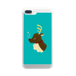 reindeer Clear smartphone cases