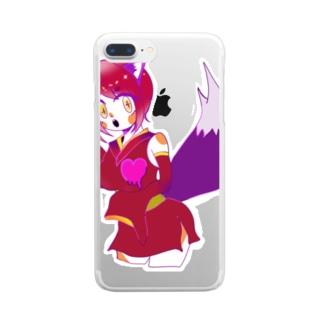 カナメ Clear smartphone cases