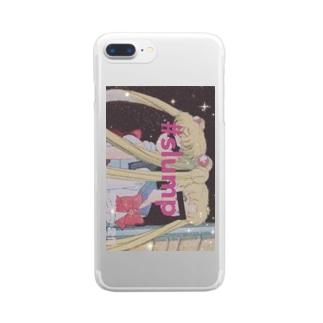 欲情⇍⇏愛情 Clear smartphone cases