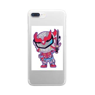 超輝神シャイニンガー2 Clear smartphone cases