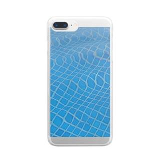 湯船ゆらゆら Clear smartphone cases