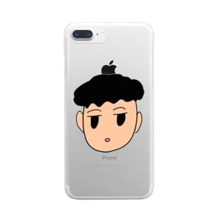 僕 Clear smartphone cases