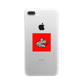 2020年の顔 Clear smartphone cases
