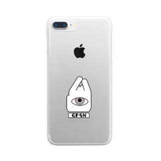マダムQシンプル JW Clear smartphone cases