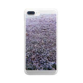 しばれたりあ文学 Clear smartphone cases