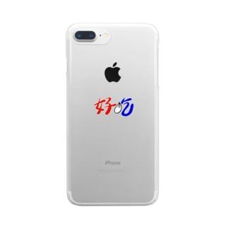 ハオチー(小籠包) Clear smartphone cases