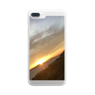 絶景 Clear smartphone cases