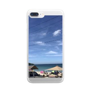 幸ある海 Clear smartphone cases