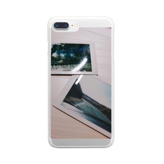 冷たい過去の思ひ出 Clear smartphone cases