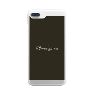 @Bonne Journee② Clear smartphone cases